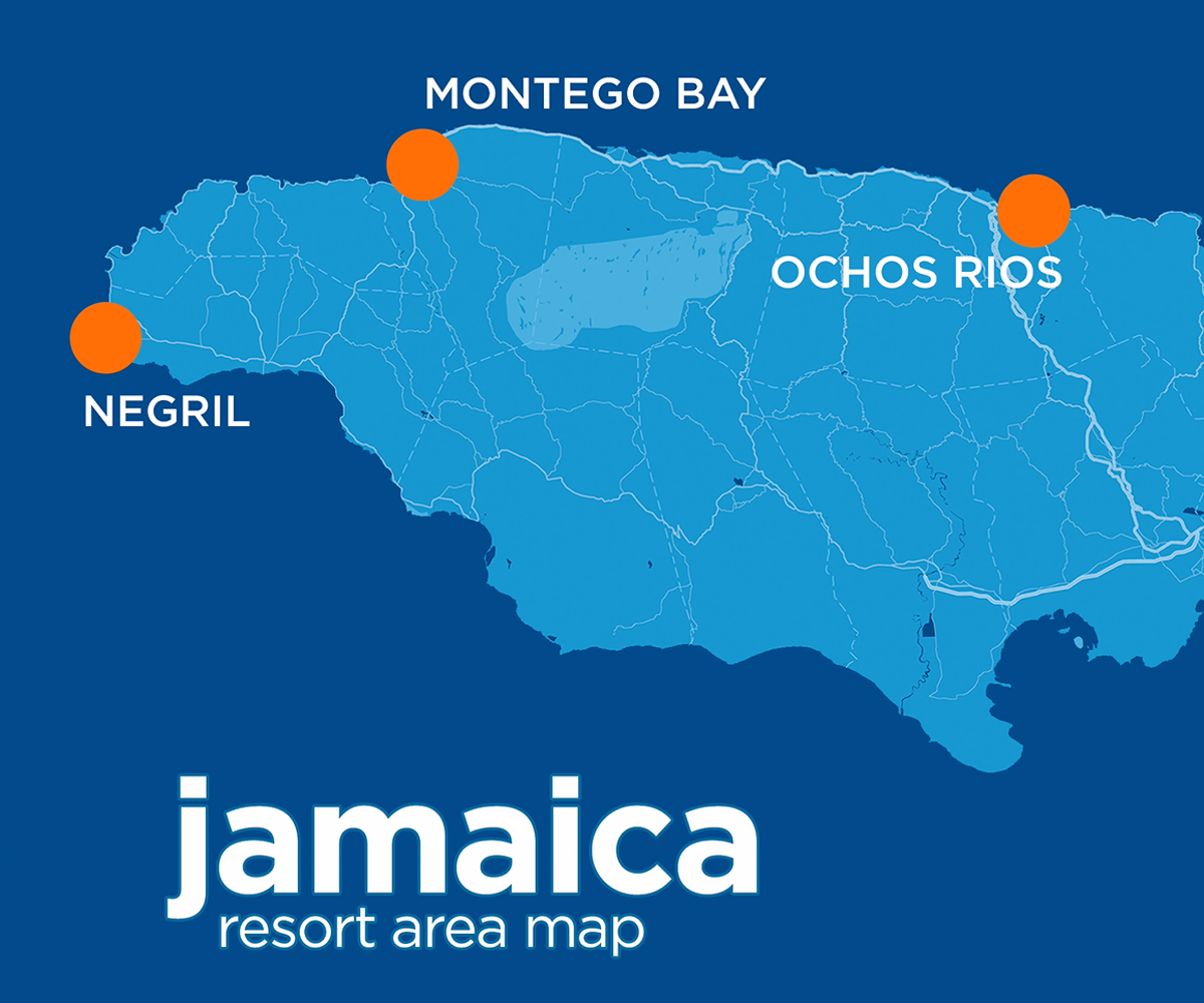 A Travel Guide to the Resort Areas of Jamaica - Sun Country View on jamaica ny 11430 map, west end jamaica map, boston bay jamaica map, jamaica street map, trelawny jamaica map, mammee bay jamaica map, spanish town jamaica map, port antonio jamaica map, rose hall jamaica map, belmont jamaica map, oracabessa jamaica map, yallahs jamaica map, st ann's bay jamaica map, bloody bay jamaica map, portland jamaica map, runaway bay jamaica map, half moon jamaica map, negril jamaica map, falmouth jamaica map, richmond jamaica map,